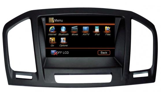 """ESX Naviceiver VN709-OP-INSIGNIA Opel Insignia 2008-2013 7"""" Touchscreen Navi"""