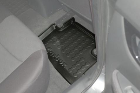 Carbox FLOOR Fußraumschale Gummimatte Nissan Qashqai 04/2014 hinten rechts