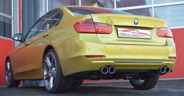 Friedrich Motorsport 76mm Auspuff Sportauspuff BMW 4er F32/F33 ab Bj. 07/2013 Co - Vorschau 2