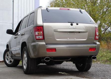 Fox Duplex Auspuff Sportauspuff Jeep Grand Cherokee WH 3, 0l CRD 160kW - Vorschau 3