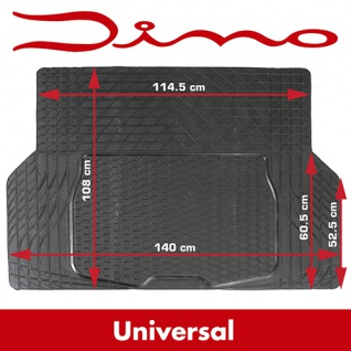 Universal Gummi Kofferraummatte Kofferraum Gummimatte Kofferraum Matte 140x108cm