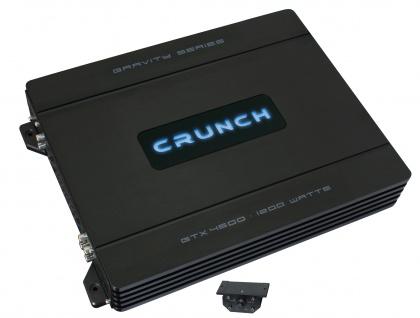 Crunch Gravity 4-kanäle Verstärker Endstufe Auto Pkw Kfz Gtx-4600 - Vorschau 2