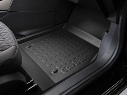 Carbox FLOOR Fußraumschale Gummimatte Fußmatte Skoda Superb II vorne rechts