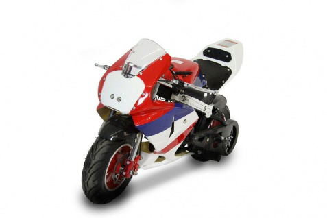 Pocket Bike 50 cc 008AS 2-Takt Neu