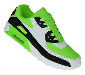 Art 903 Neon Turnschuhe Schuhe Sneaker Sportschuhe Luftpolstersohle Herren