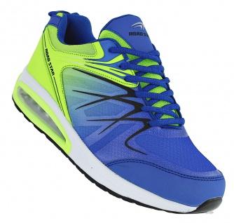 Art 264 Neon Luftpolster Turnschuhe Schuhe Sneaker Sportschuhe Neu Herren
