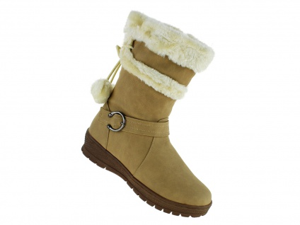 Art 608 Winterstiefel Damenstiefel Boots Stiefel Winterschuhe Schuhe Neu Damen