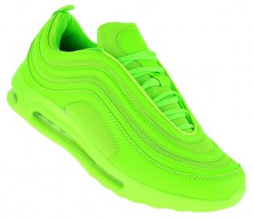 Neon Turnschuhe Schuhe Sneaker Boots Sportschuhe Luftpolstersohle Herren 089