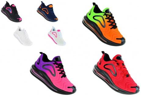 Neon Luftpolster Turnschuhe Schuhe Sneaker Boots Sportschuhe Unisex 093