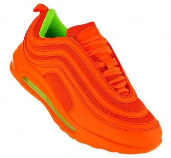 Art 559 Neon Turnschuhe Schuhe Sneaker Sportschuhe Luftpolstersohle Herren