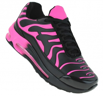 Art 314 Neon Luftpolster Turnschuhe Schuhe Sneaker Sportschuhe Neu Damen