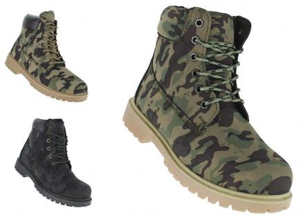 Winterstiefel Camo Outdoor Boots Stiefel Winterschuhe Herrenstiefel Herren 052