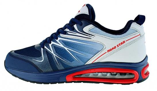 Art 855 Neon Turnschuhe Schuhe Sneaker Sportschuhe Luftpolstersohle Herren - Vorschau 3
