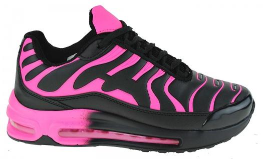 Art 314 Neon Luftpolster Turnschuhe Schuhe Sneaker Sportschuhe Neu Damen - Vorschau 2