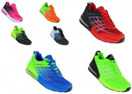 Neon Luftpolster Turnschuhe Schuhe Sneaker Boots Sportschuhe Unisex 094