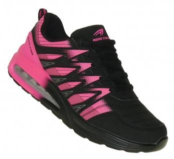 Art 972 Neon Luftpolster Turnschuhe Schuhe Sneaker Sportschuhe Neu Damen
