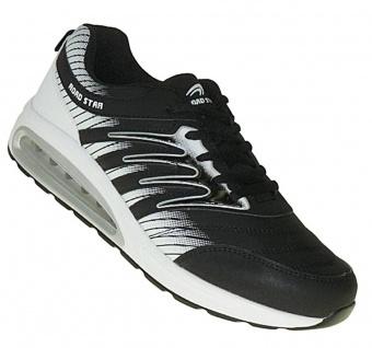 Art 709 Luftpolster Turnschuhe Schuhe Sneaker Sportschuhe Neu Damen Herren