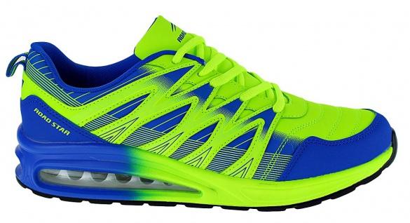 Art 479 Neon Turnschuhe Airsoft Schuhe Sneaker Sportschuhe Neu Herren - Vorschau 2