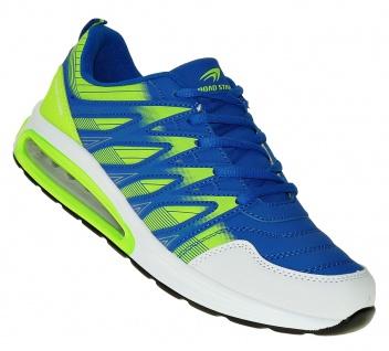 Art 987 Neon Luftpolster Turnschuhe Schuhe Sneaker Sportschuhe Neu Herren