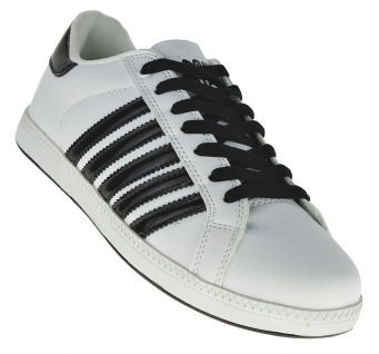 Art 488 Sneaker Schuhe Skater Schnürer STRIPES Slipper Boots Neu UNISEX