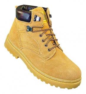 Art 600 Winterstiefel WILDLEDER LEDER Boots Stiefel Winterschuhe Schuhe UNISEX
