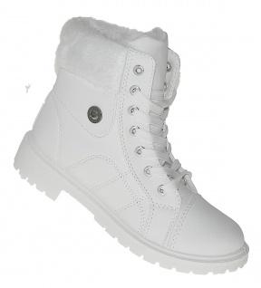 sneakers for cheap 950f1 fa58f Art 616 Winterstiefel Damenstiefel Boots Stiefel Winterschuhe Schuhe Damen  SNOW-WHITE