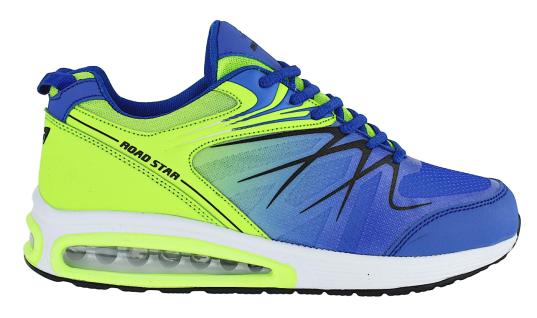 Art 264 Neon Luftpolster Turnschuhe Schuhe Sneaker Sportschuhe Neu Herren - Vorschau 2