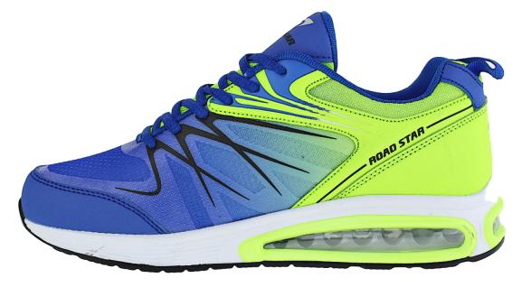 Art 264 Neon Luftpolster Turnschuhe Schuhe Sneaker Sportschuhe Neu Herren - Vorschau 3