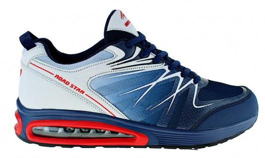 Art 855 Neon Turnschuhe Schuhe Sneaker Sportschuhe Luftpolstersohle Herren - Vorschau 2