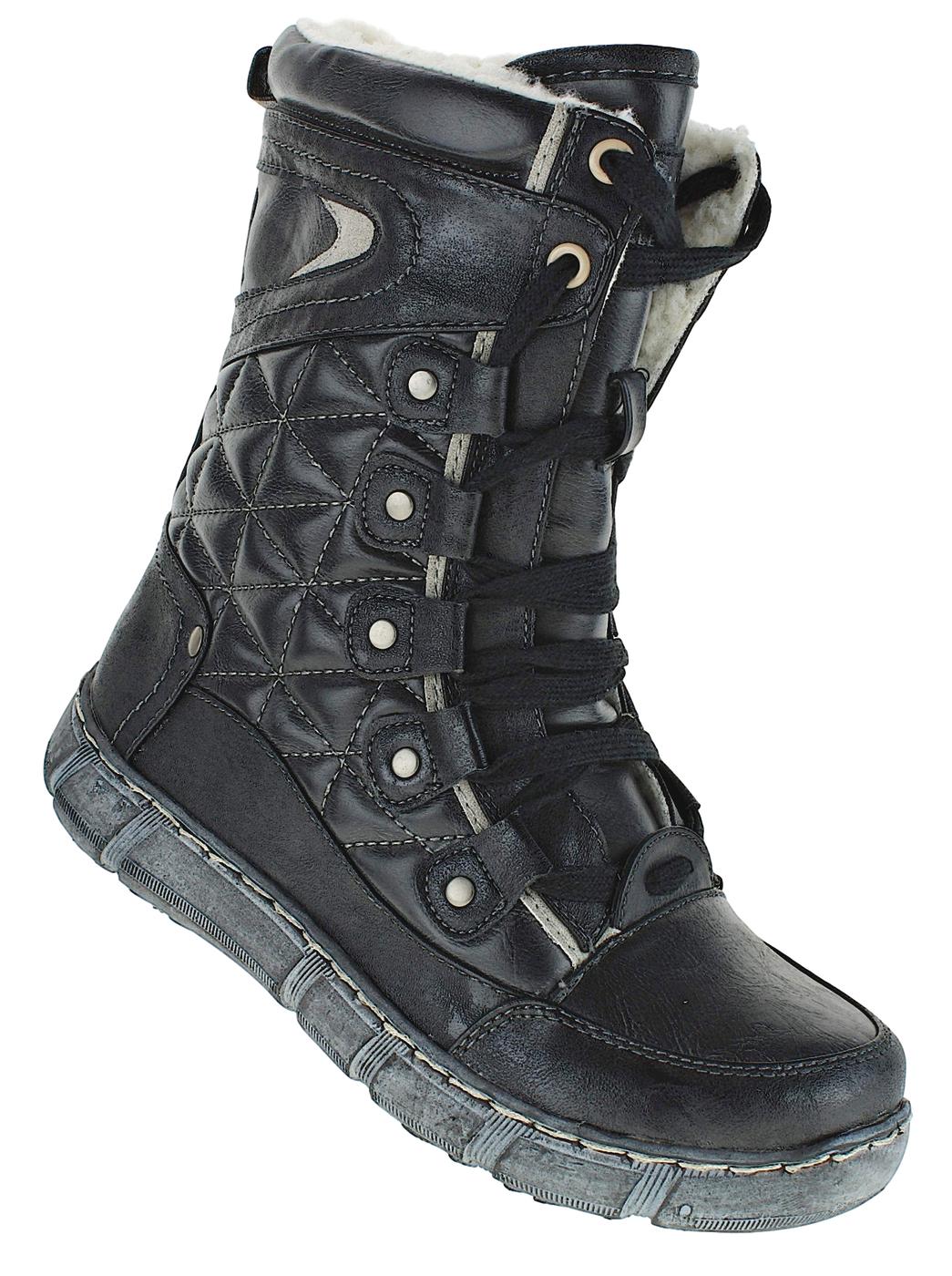 Schuhe Winterschuhe Art 635 Stiefel Boots Damen Damenstiefel Neu Winterstiefel ULpjqMGzSV