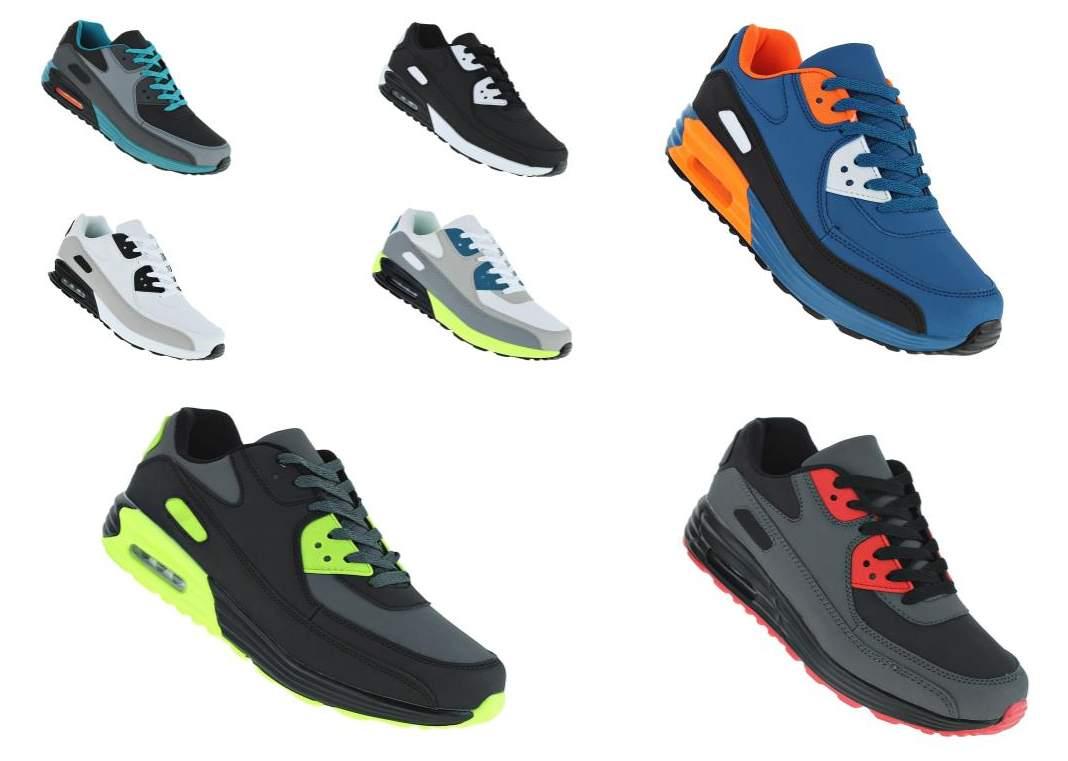 big sale 4cc5e 3fcbb Übergröße Luftpolster Boots Turnschuhe Schuhe Sneaker Sportschuhe  Laufschuhe 077
