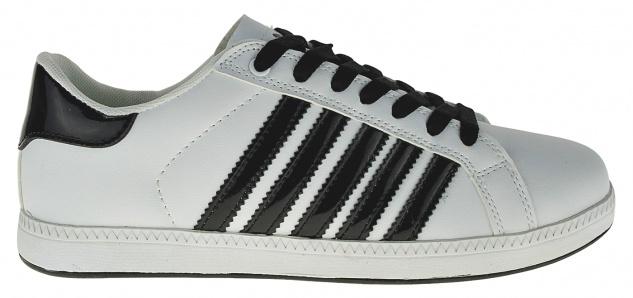 Art 488 Sneaker Schuhe Skater Schnürer STRIPES Slipper Boots Neu UNISEX - Vorschau 2