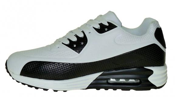 Art 633 Neon Turnschuhe Schuhe Sneaker Sportschuhe Luftpolstersohle Herren - Vorschau 3