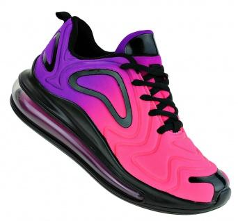 Art 546 Neon Luftpolster Turnschuhe Schuhe Sneaker Sportschuhe Neu Damen