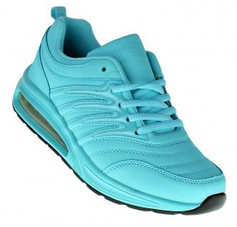 Art 852 Neon LUFTPOLSTER Turnschuhe Schuhe Sneaker Sportschuhe Neu