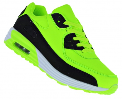 Art 368 Neon Turnschuhe Schuhe Sneaker Sportschuhe Luftpolstersohle Herren