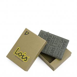 Lois Brieftasche Für Herren Leder Scheintasche Geldtasche Kartenhalter 11720 - Vorschau 3
