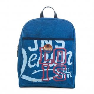 Lois Rucksack Für Damen Denim Design Segeltuch Tragetasche Handtasche Praktisch Bakpack 91250 - Vorschau 4