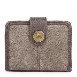SKPAT Kartentasche Für Damen Geldbörse Mit Schnappverschluss Geldtasche Kartenhalter 95403 - Vorschau 4