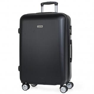 Itaca Mittlere Hartschale Reisekoffer 61Cm ABS. 4 Rollen. Reisegepäck. Koffer. Hängeschloss. Gute Qualität. Schönes Design. T58060