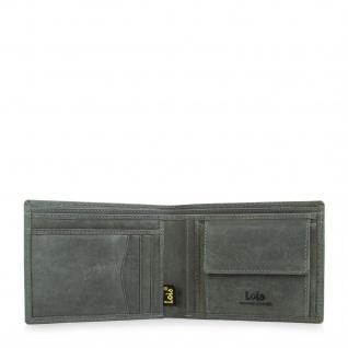 Lois Brieftasche Für Herren Portemonnaie Geldbörse Kartenhalter Echtleder Geldbörse Scheintasche 11701 - Vorschau 5