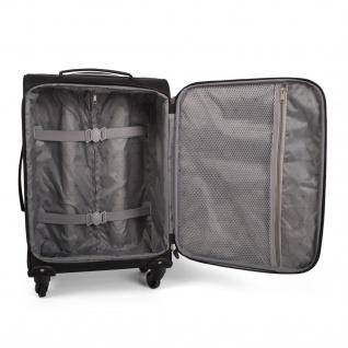 Itaca Kabinereisenkoffer 55 Cm EVA-Polyester, 4 Rollen. Kabinengepäck. Handgepäck. Robuster Koffer. Reisekoffer. I52750 - Vorschau 5