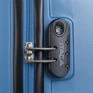 Itaca 2Er Hartschalen Kofferset 50/60 Cm ABS. 4 Rollen. Robuster Und Leichter. Reisekoffer. 2 Große: Kabine Und Mittlere Koffer. T71615 - Vorschau 3