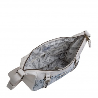 Lois Schultertasche Für Damen Kunstleder PU Tasche Unhängetasche Hobo Bag 27356 - Vorschau 5