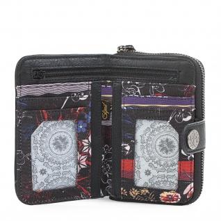 SKPAT Portmonnaie Gestickt Für Damen Geldbeutel Brieftasche Geldtasche Kartenhalter 95514 - Vorschau 5