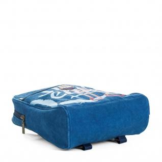 Lois Rucksack Für Damen Denim Design Segeltuch Tragetasche Handtasche Praktisch Bakpack 91250 - Vorschau 3