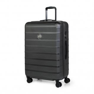 Itaca Hartschale Reisekoffer 77Cm ABS. 4 Rollen. Extrem Geräumig. Hart, Robust Und Leicht Koffer. Reisegepäck. T72170