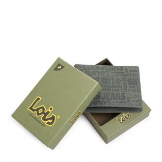 Lois Brieftasche Für Herren Portemonnaie Geldbörse Kartenhalter Echtleder Geldbörse Scheintasche 11701 - Vorschau 3