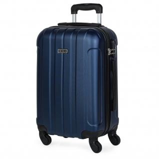 Itaca Hartschale Reisekoffer 55 Cm ABS, 4 Rollen. Kabinengepäck. Handgepäck. Reisegepäck. Low Cost Ryanair. Koffer 771150