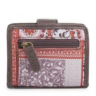 SKPAT Kartentasche Für Damen Geldbörse Mit Schnappverschluss Geldtasche Kartenhalter 95403 - Vorschau 2